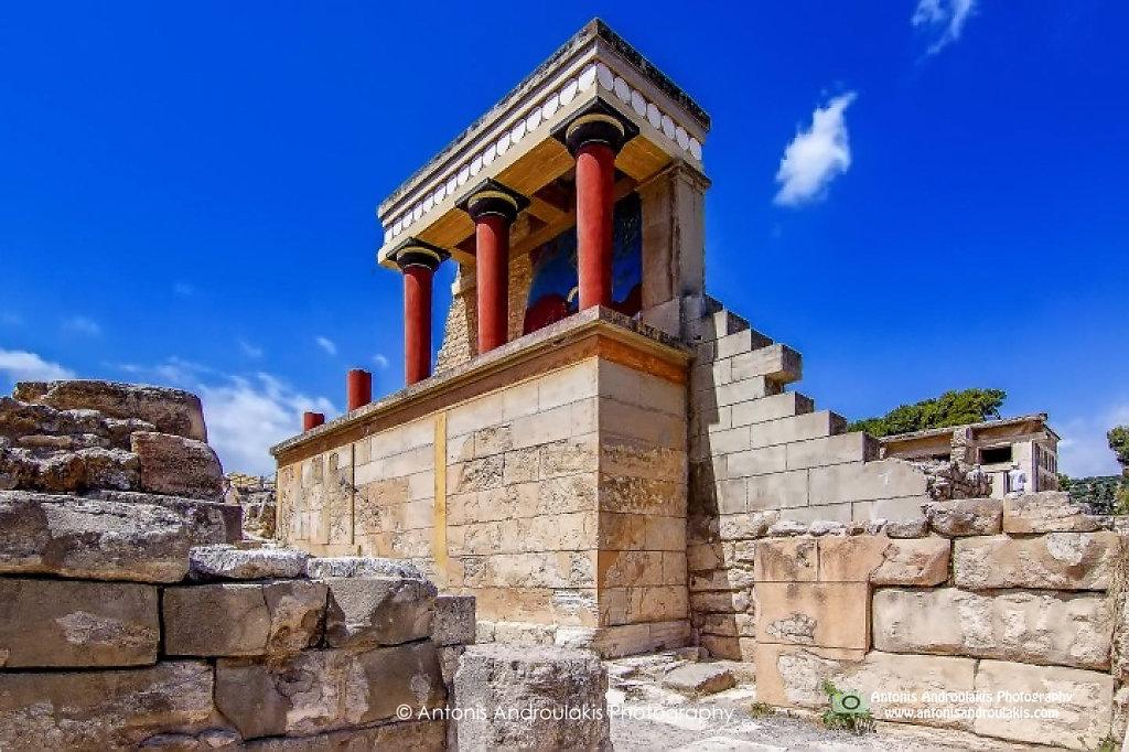 Knossos Entrance